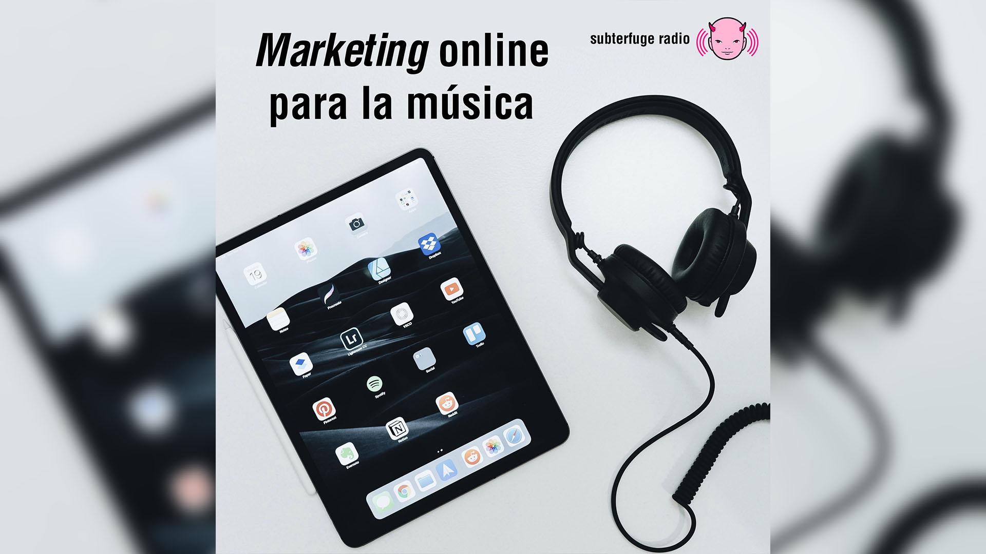 Marketing online para la música