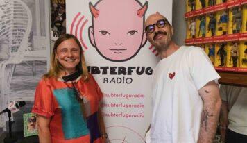 Alicia Arauzo, directora general del departamento de discos de Universal, en Simpatía por la industria musical