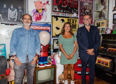 Cata de cecinas con Andrés Rodríguez y Pilar Portero en Casa Cavestany