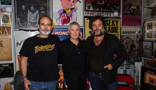 """Javier de Pecos y Enrique López Lavigne en el """"foodcast"""" Casa Cavestany"""